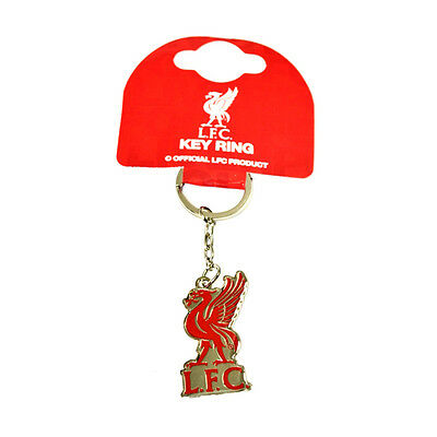 Liverpool Fc Lfc Club Crest Metal Keyring Key Ring Keychain New Gift Xmas