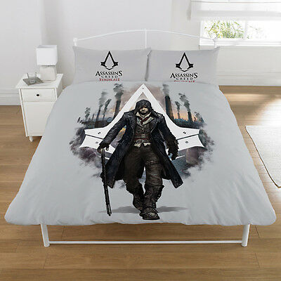 Assassins Creed Syndicate Kids Single Double Duvet Cover Set New Gift Xmas