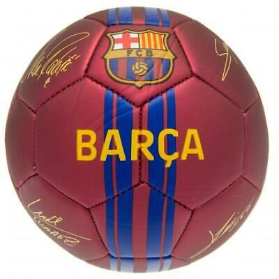 Official Fc Barcelona Signature Football Adult Size 5 New Xmas Gift