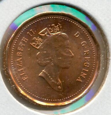 1996 Canada Small Cent, Choice Brilliant Uncirculated Red, Great Price!