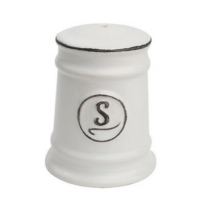 T&G Pride Of Place Salt Shaker White