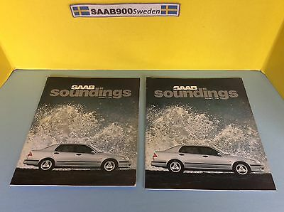SAAB soundings Magazine Number 1 / 1998 Two Copies!! Excellent Condition!!