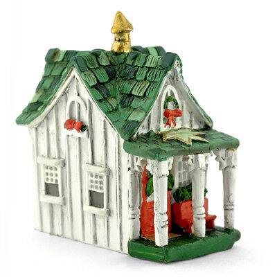 Miniature Dollhouse FAIRY GARDEN - Micro Mini Christmas Cottage - Accessories