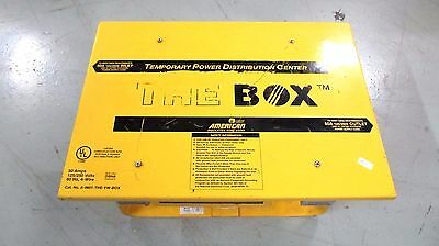 Leviton The Box Temporary Power Distribution Center 125/250V 50A Yellow