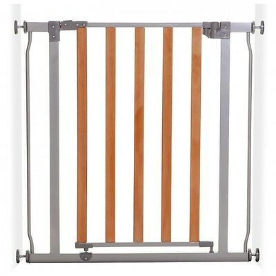 ❤ DREAM BABY Dreambaby Cosmopolitan Safety SECURITY Gate Metal & Wood 75-84 Open