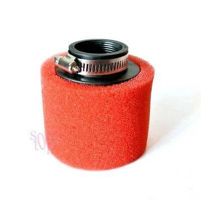 40mm Red Foam Air Filter For CRF50 XR50 Motorcycle ATV Motorbike