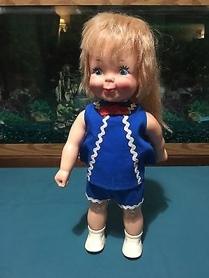 1970 Remco Jumpsy Doll In Original Outfit