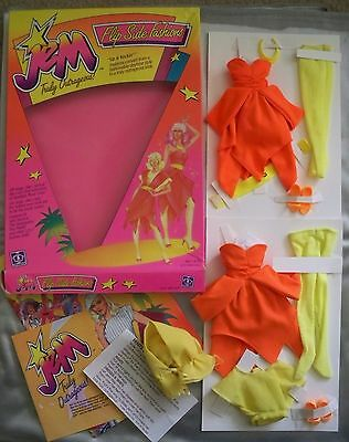 Up & Rockin Flip Side Fashions Jem 1st year Hasbro 1986 with box! and MORE