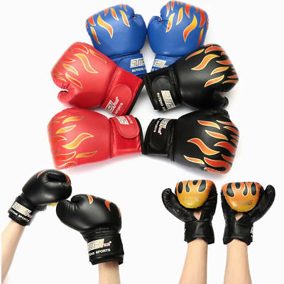 5 OZ Kids Boxing Sparring Gloves Children Punching Fight Training Age 3-12