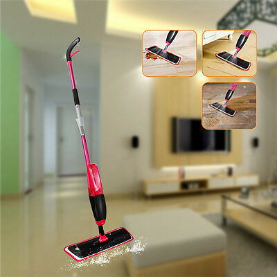 Household Cleaning Products Mini Electric Appliance Water Spray Mop &Scraper