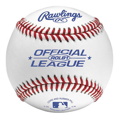 Rawlings Official MLB League ROLB1 Competition Baseball Ball