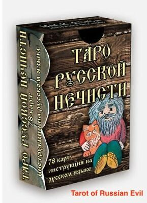 Tarot of Russian Evil Spirits 78 cards
