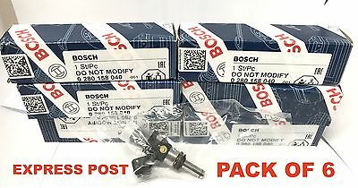 NEW 1000cc BOSCH E85 Fuel Injector - Ford Falcon FG XR6 Turbo Without EXTENSIONS