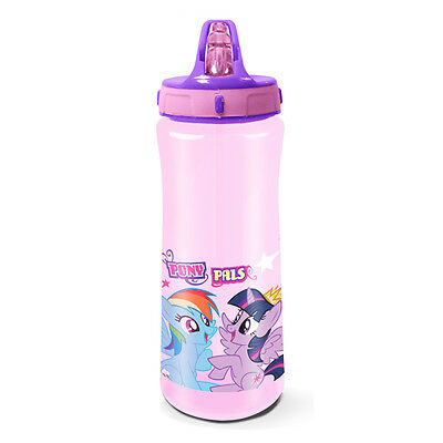 Official My Little Pony Europa Plastic Water Bottle Kids Girls New Xmas Gift