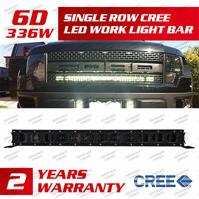 "CREE 26"" 240W Single Row Led Work Light Bar PICKUP SUV FOR  Ford F150 2004-2014"