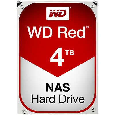 WD Red™ BULK, 4 TB HDD, 3.5 Zoll, intern, Rot
