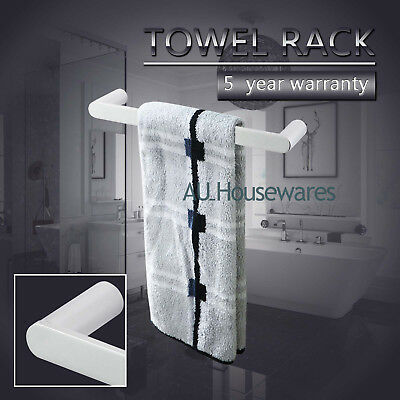 ACA Wall Mount 300mm Hand Towel Rail Rack Single Stainless Steel 304 Chrome