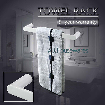 Wall Mount 300mm Hand Towel Rail Rack Ring Holder Single Stainless Steel 304