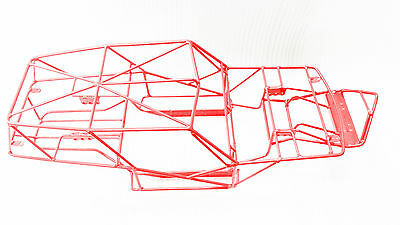 Axis Race AX90018 AX90020 AX90031  Metal Roll Cage Red