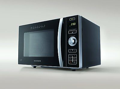 Daewoo 24L Combination Microwave Oven and Fat Free Fryer in Black - KOC8HAFR