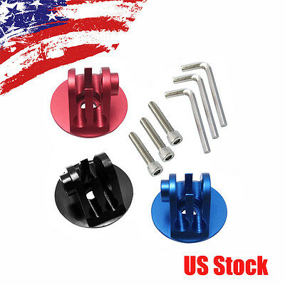CNC Aluminum Alloy Tripod Adapter Mount w' Screw Tool for GoPro 6 5S 5 4S 4 3+ 3