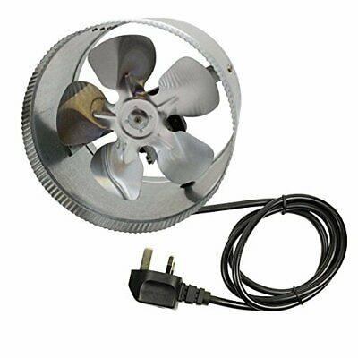 "Hydroponic 6"" 150mm Inline Duct Booster Fan Exhaust Blower for Grow Tent Room UK"