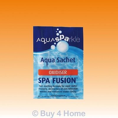 Aquasparkle Spa Fusion Oxidiser Shock Treatment Hot Tub Pool Spas Swimming Pool