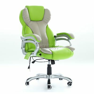 WestWood Luxury 6 Point Massage Office Computer Chair Reclining MC8074 Green