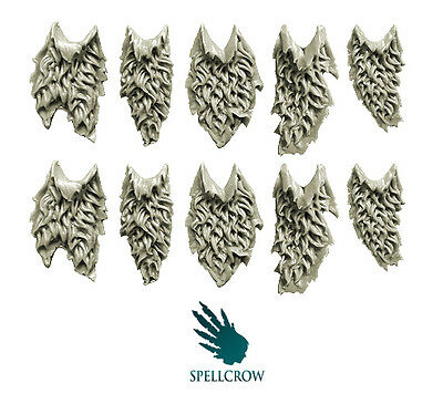 Spellcrow - Wolves Space Knights Furry Tabards - WOLVES BITS
