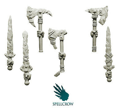 Spellcrow - Wolves Space Knights Frost Weapons - WOLVES BITS