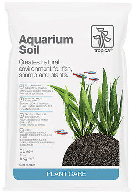 Tropica Plant Soil 9L for Planted Tanks Aquarium Plants Active Soil
