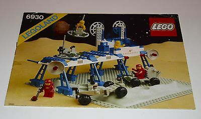 Lego Space BA 6930 Space Supply Station, only Instructions Manuel,ohne Steine
