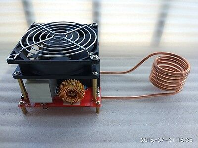 1pcs 900W ZVS high frequency induction heating machine IN 24V - 36V DIY