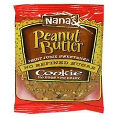 Nana'S Cookies Peanut Butter Cookie 3.5 Oz -Pack of 12