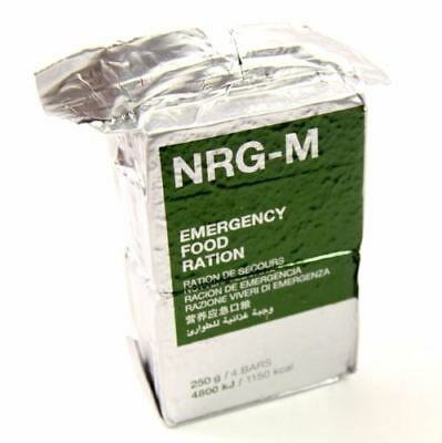 Emergency ration army survival food pack. Military NRG-M 250g. food