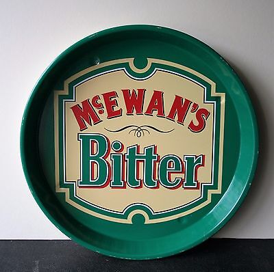 McEwan's Bitter 1970's Pub Beer Advertising tray Retro