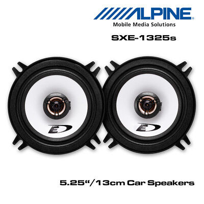 "Alpine SXE-1325S - 5.25"" 13cm 2-Way Car Coaxial Speakers 400W Total Power"