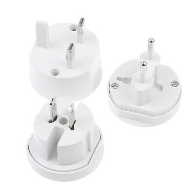 3-In-1 EU AU UK US To Universal Travel AC Power Plug Convertor Adapter Socket
