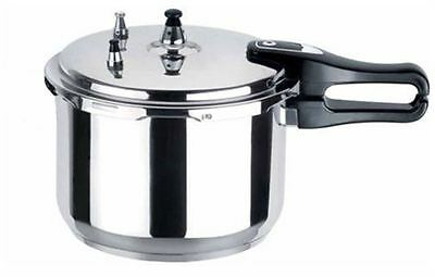 3L Litre Cooking Pressure Cooker Aluminium Kitchen Catering Home Brand New