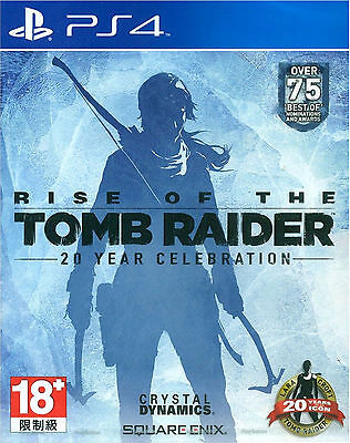 Rise of the Tomb Raider: 20 Year Celebration HK Chinese subtitle Version PS4 NEW