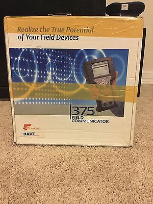 Hart 375 Emerson system software version  2.0 Field Communicator with extras