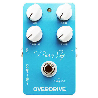 Caline CP-12 Pure Sky Overdrive Clean Boost Guitar Effects Pedal