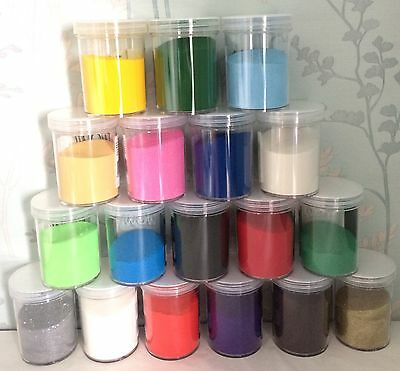 5ml or 10ml embossing powder - Choice of many Colours! Wow! Heat it up