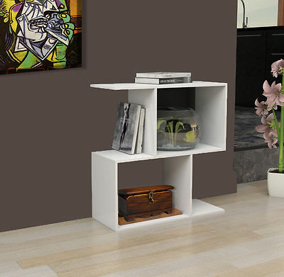 Modern design side table coffee table display unit living for 2 living rooms side by side