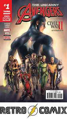 Marvel Uncanny Avengers #15 First Print New/unread Bagged & Boarded