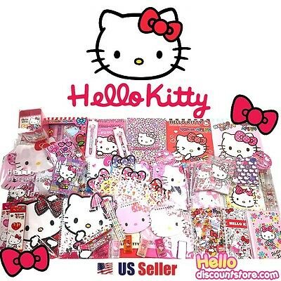 Sanrio Hello Kitty Assorted School Supply Stationary Blind Goody Gift Set