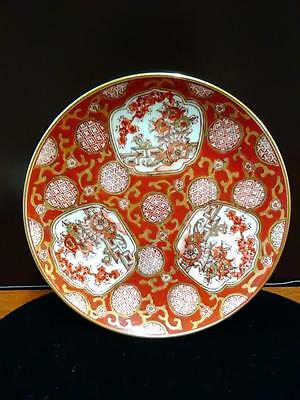 Elegant&intricate Hand Decorated Gold(3)Japanese Imari Plates-Plz Make An Offer!