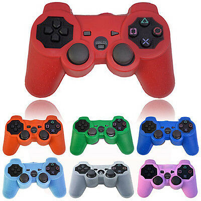 Silicone Protective Skin Cover Wrap Case for Playstation 3 PS3 Controller Fancy