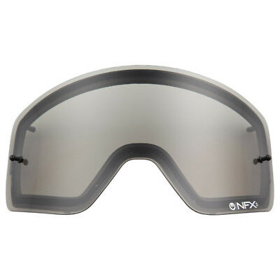 NEW Dragon Mx NFXs Motocross Goggles Anti-Fog Grey Replacement Lens