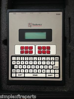 Radionics Bosch D5200 Programmer ONLY , NO CASE OR MANUAL